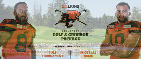 BC Lions Golf Game