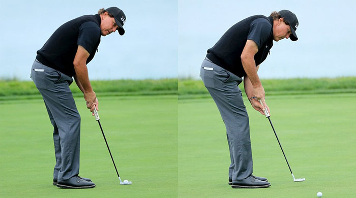 Phil Mickelson's two tricks that will make your putting stroke more consistent, guaranteed