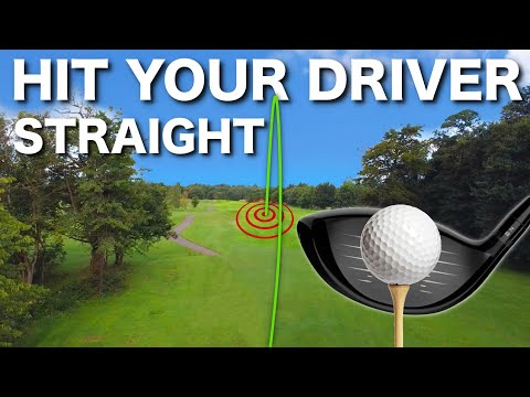 HOW TO HIT YOUR DRIVER STRAIGHT - 3 SIMPLE TIPS