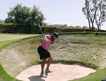 How to Hit Out of a Pot Bunker
