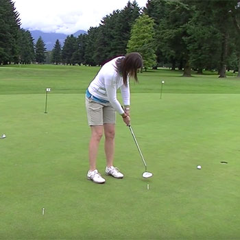 Maintain Distance Control on the Putting Green
