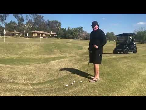 Phil Mickelson teaches his low-spinning check shot