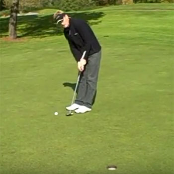 Grip Pressure When Putting