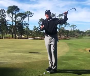 Phil Mickelson's Toe Down Chip Shot