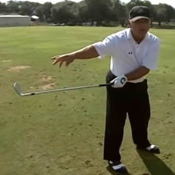 Left Shoulder Move For More Distance