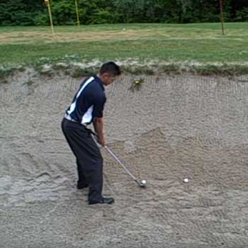 Hitting From Wet Bunkers
