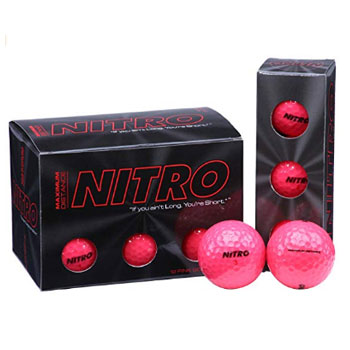 Nitro Maximum Distance Golf Ball