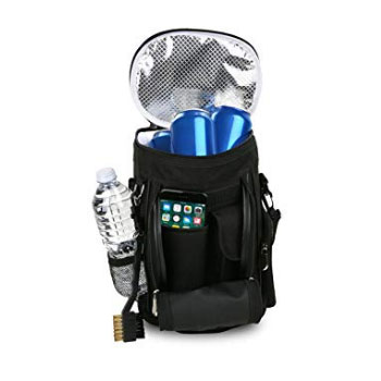 Golf Bag Cooler and Accessory Caddy